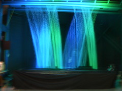 light, laser, stage, green, interior design, blue, lighting,