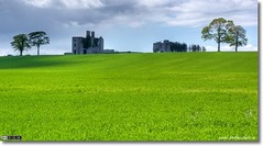 Rathcoffey Castle (Tonemapped Panoramic Crop)