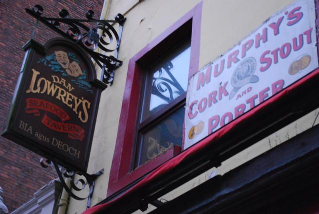 Dan Lowrey's, Cork, Jan 2009
