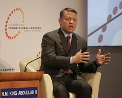 King Abdullah II - World Economic Forum on the Middle East 2009