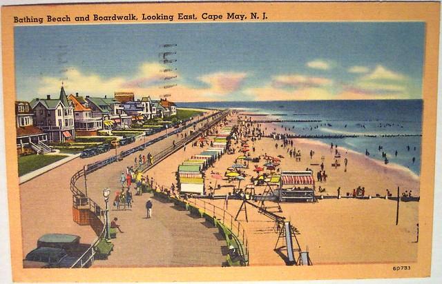 Vintage Postcard - Cape May, N.J | Explore riptheskull's ...