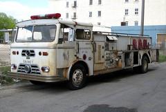 Former Merrick FD Fire Truck