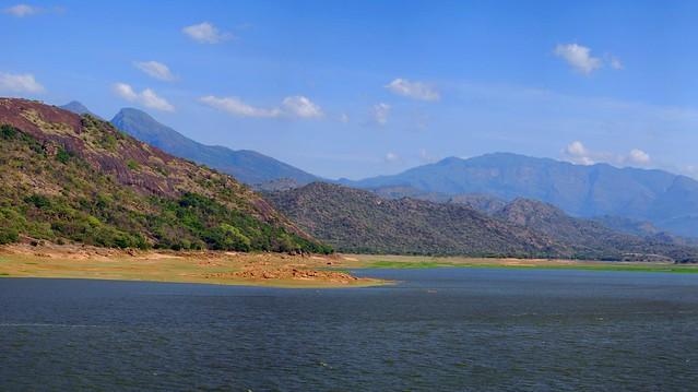 Header of Amaravathi Dam