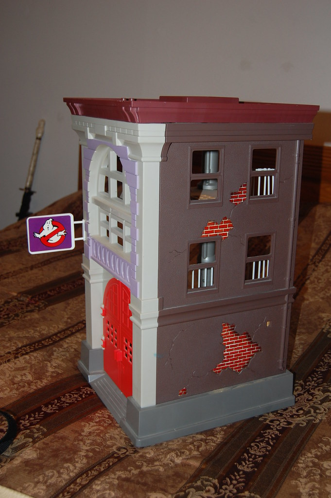 Ghostbusters Firehouse Auction