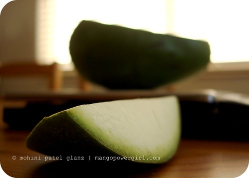raw green mango