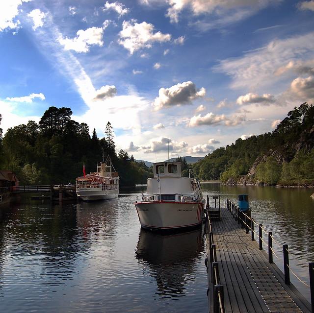 Trossachs Pier - Loch Katrine - a photo on Flickriver