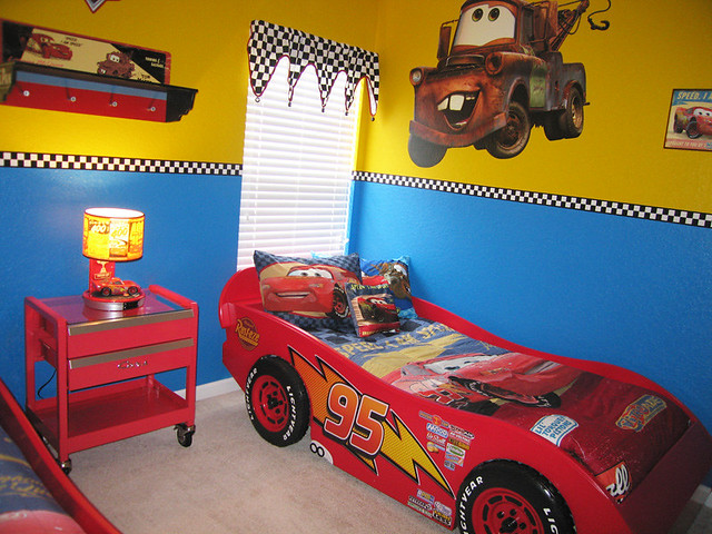 Disney cars themed bedroom flickr photo sharing for Cars theme bedroom ideas