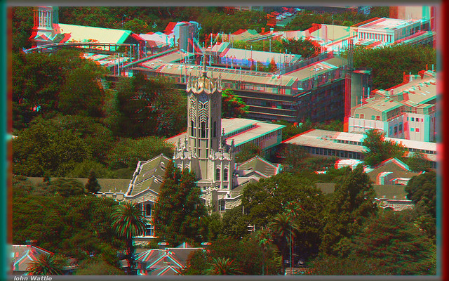 Auckland University Anaglyph
