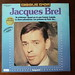 Small photo of Jacques Brel - Disque D'Or, Impact