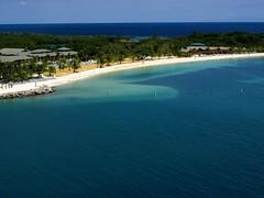 horizon, beach, sea, ocean, island, body of water, inlet, shore, coast,