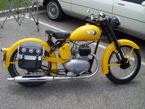 1935 Indian Brave motorcycle