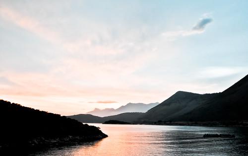 sunset sea sky nikon tramonto mare hills cielo colline d3000 kelatr
