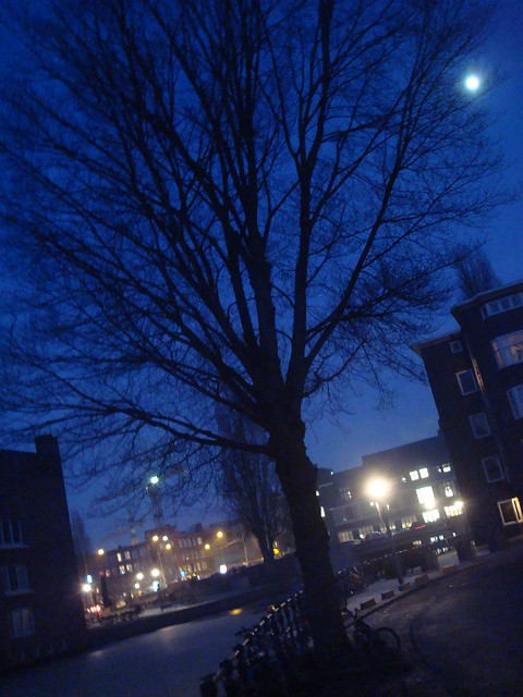 Moon over Amsterdam | Flickr - Photo Sharing!