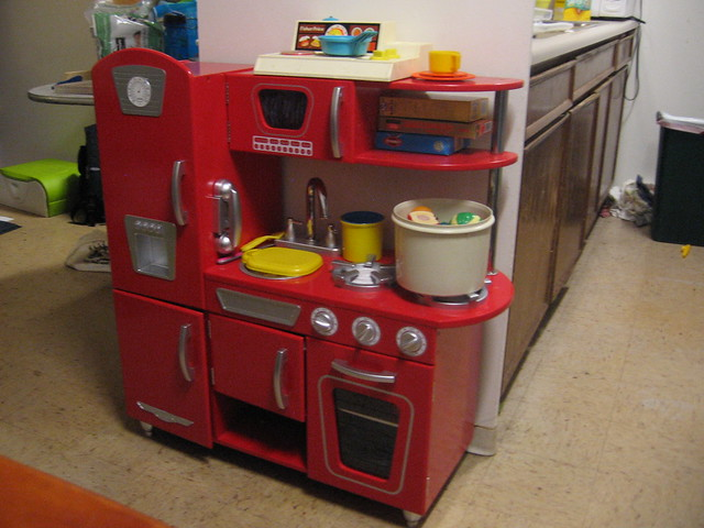 Play Kitchen From Gran And Some Vintage Fisher Price And Tupperware Flickr Photo Sharing