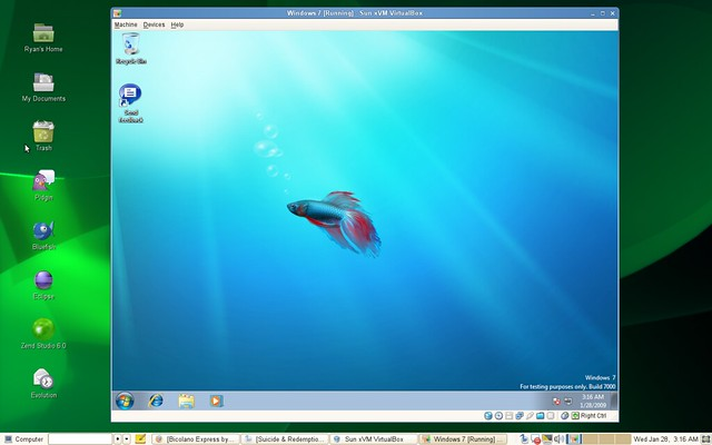 Windows 7, Themes, Mic