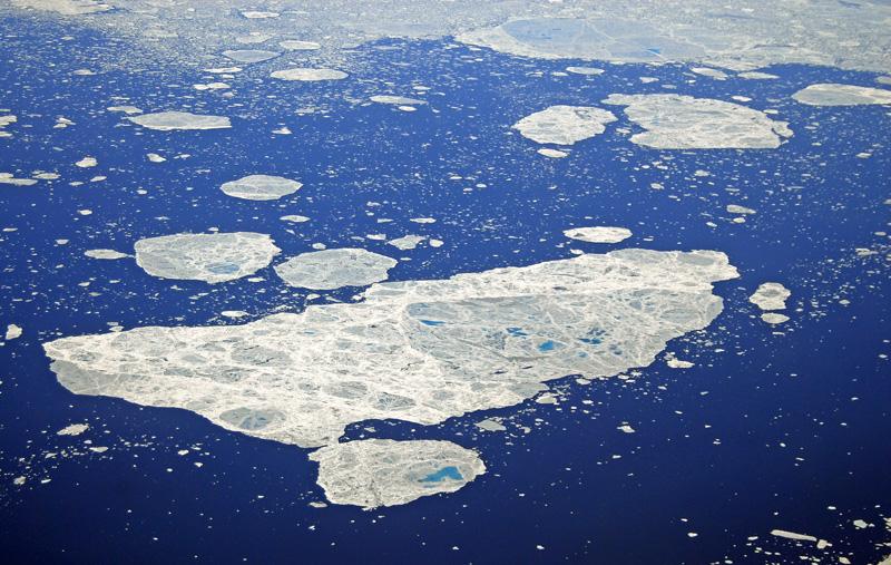 Тающие льды Арктики