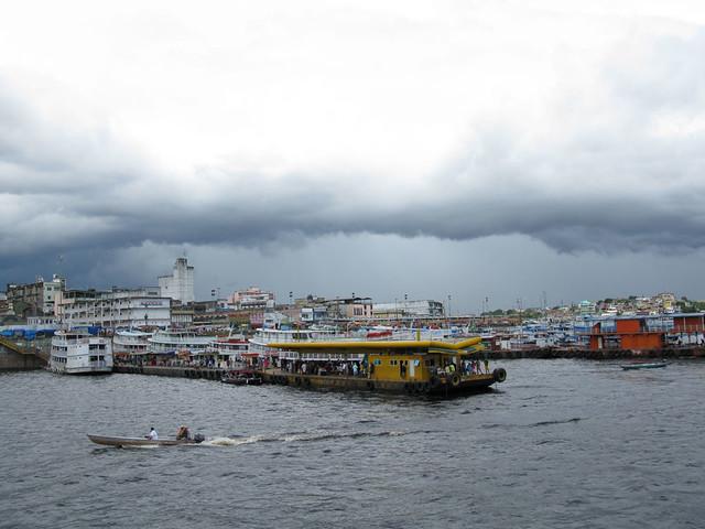 Leaving Manaus