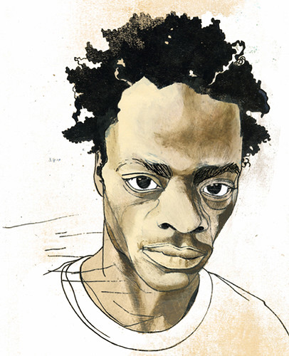 Harold Hunter  | Portrait of the New York skateboarder for Huck Magazine
