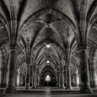 Glasgow University Cloisters - again