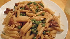 vegetable, italian food, pasta, penne, food, dish, carbonara, cuisine,