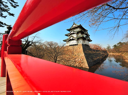 Waiting for Cherry Blossoms © Glenn Waters (Explored) Hirosaki Castle.