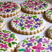 Handpainted Wedding Shower Cookies by Whipped Bakeshop