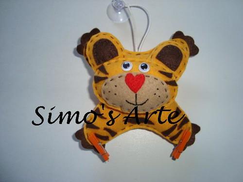 Novo modelo - Tigre by Artes by Simo's®