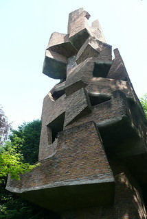 "André Bloc - sculpture-habitacle ""La Tour"", 1966 - Meudon - France"