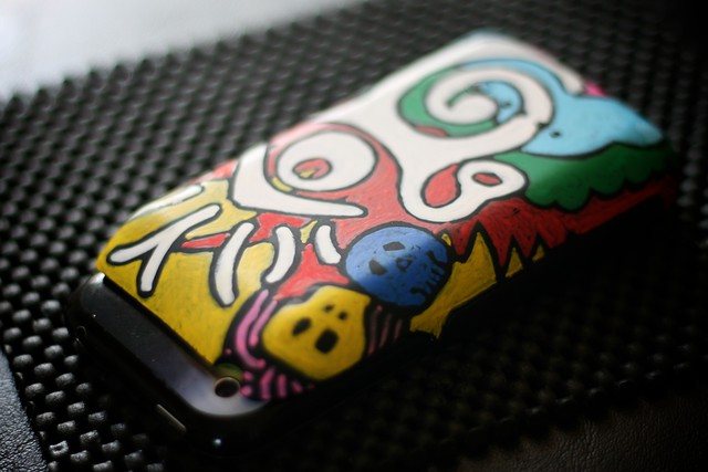 Custom Mophie color explosion