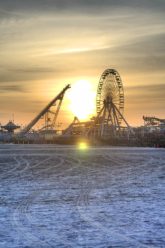 park new wheel sunrise amusement sand nj ferris wildwood jerset