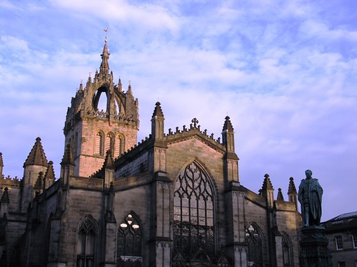 st giles cathedral - edinburgh