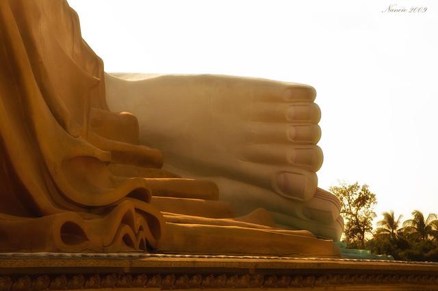 Reclining Buddha, Bago, Myanmar