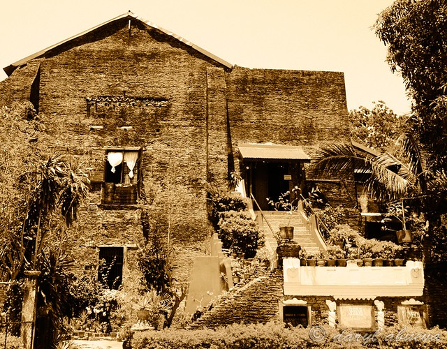 Old House in Ilocos Norte, Philippines