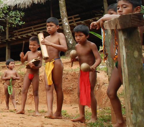 Embera boys