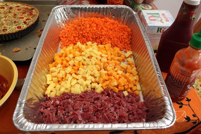 kimchi omelette filling | Flickr - Photo Sharing!