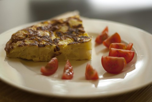 Spanish Tortilla. Barcelona. Spain