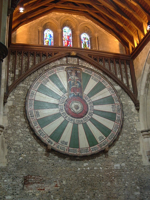 Fake round table great hall winchester flickr photo sharing - Round table winchester cathedral ...
