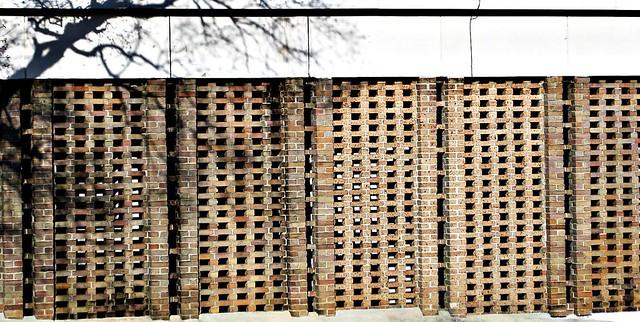 Perforated brick wall flickr photo sharing for Perforated brick wall