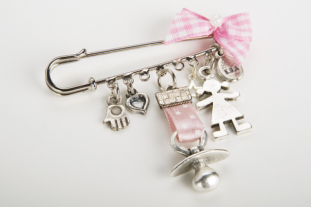 Infant Earrings on New Mom Baby Girl Jewelry Shower Gift Charm Silver Pin   Flickr