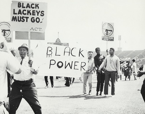 Black Power movement at the Chicago Freedom Movement Rally, Soldier Field (Freedom Sunday)
