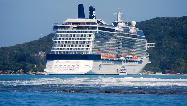 Cruise ship - Celebrity Solstice