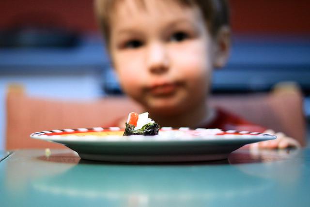 Axel et les sushis de fête