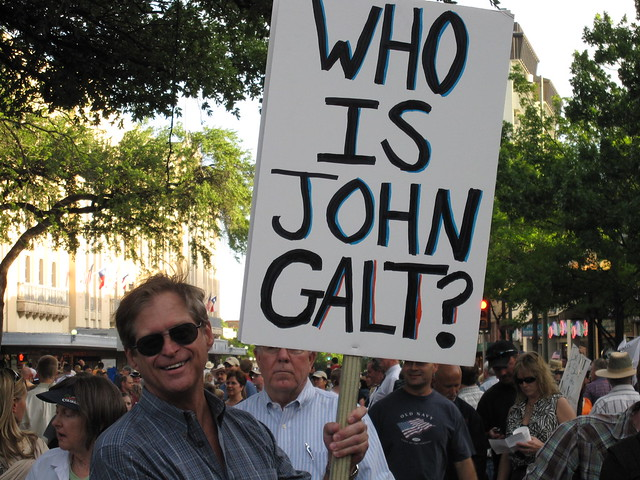 Tea Party Sign John Galt