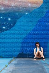 Leah Heidelmeier - The Blue Wall, Outfit 2 (Critique)