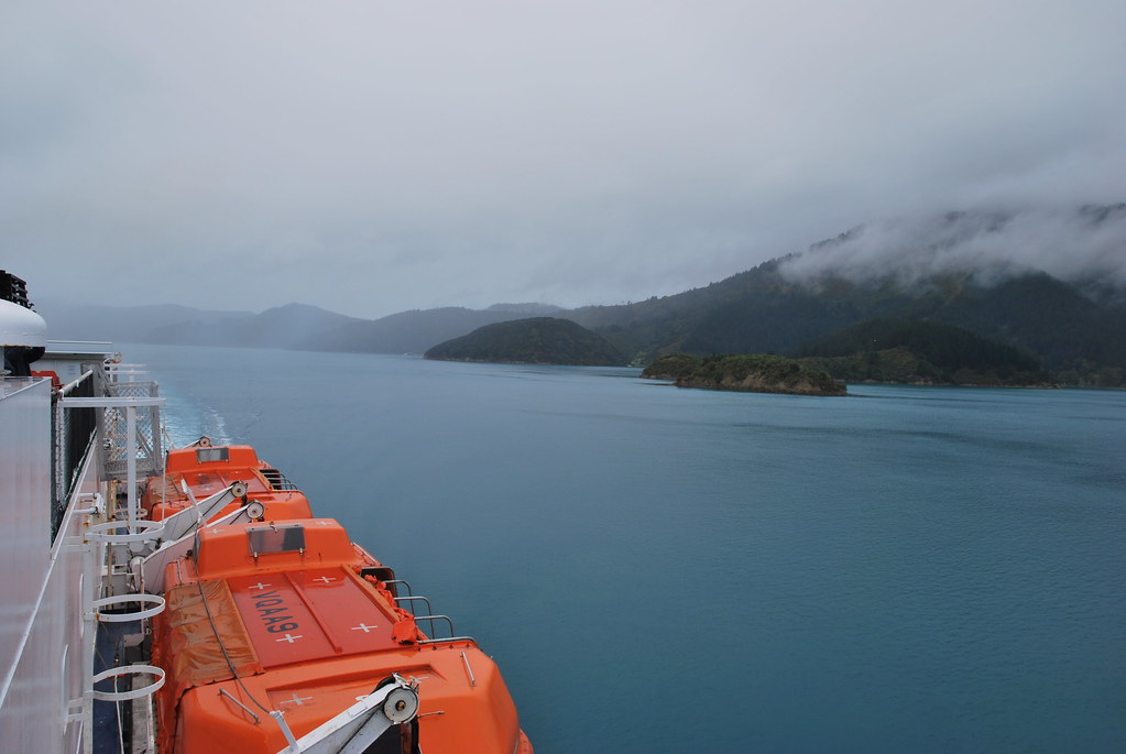 Wellington to Picton - Cook Strait - New Zealand