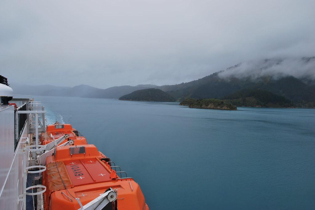 Wellington to Picton - Cook Strait - New Zealand