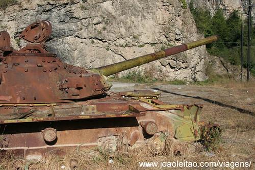 Tanques de Guerra no Alto Carabaque