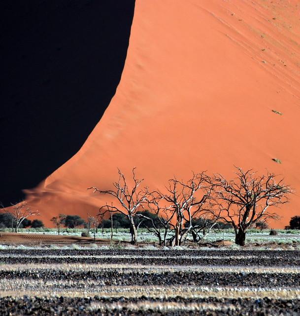 Sossusvlei, desierto del Namib, Parque nacional de Namib-Naukluft, Namibia