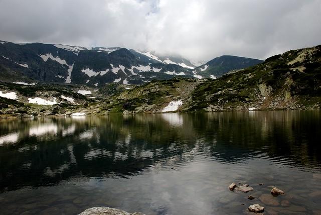 Los Siete Lagos Glaciares de las Montañas Rila, península de los Balcanes, Bulgaria