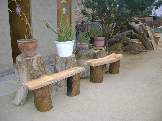 Muebles rusticos de troncos flickr photo sharing - Muebles de pino rusticos ...